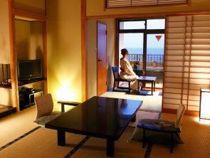 露天風呂付客室 スタンダード客室 の一例